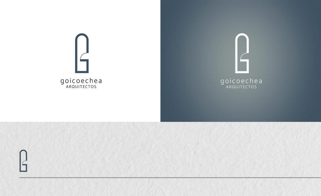 mockup goicoechea logo